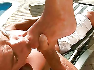 Dispirited Gams increased by Enticing Soles Compilation