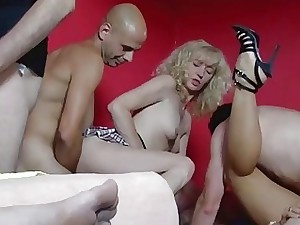 MMV FILMS German Fledgling Sexual relations Swinger Soiree